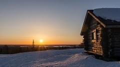 Martimoaapa - Sunrise at Keski-Penikka