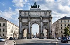 Siegestor in Munich at Day