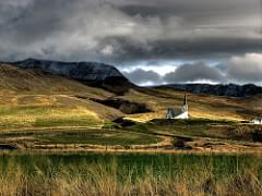 House on the Icelandic Prairie