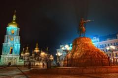 Bohdan Khmelnytsky Square in Kiev