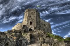 Cardiff Castle HDR