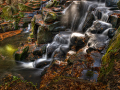 Waterfall at Virginia Water