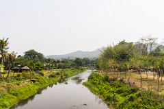 River in Pai, Thailand