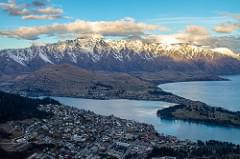 Sunset over the Remarkables - Queenstown, New Zealand