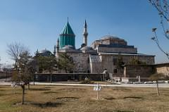 At the Mevlana Museum, Konya
