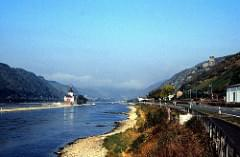West Germany   -   The Rhine   -   Pfalz    -   October 1985