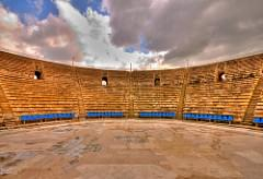 Caesarea Theater in HDR