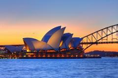 Opera House Sunset HDR