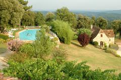 Aquitaine, Hameau du sentier des sources, Sarlat-la-Canéda, Dordogne