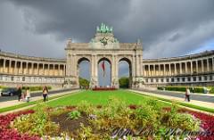 Arc de Triumph - Parc du Cinquantenaire - Brussels