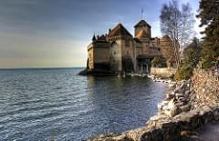 Château de Chillon & Lake Geneva, Switzerland