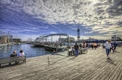 Port – Puerto de Barcelona, HDR