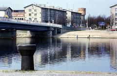 Pärnu River Bridge, Pärnu, Estonia. May 1996