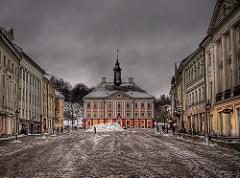 Town Hall & Town Square - Tartu, Estonia