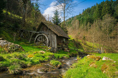Watermill in Black forest,Germany