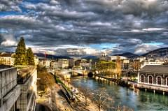 HDR Swiss Bridge