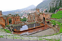 Italy-2546 -  Greek-Roman Theatre