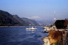 West Germany   -   The Rhine   -   October 1985