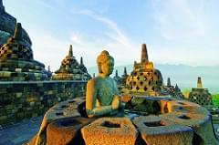 UNESCO World Heritage Site of Borobudur, Central Java