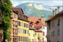 Old Town Annecy (France)