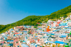 Gamcheon, typical shot of