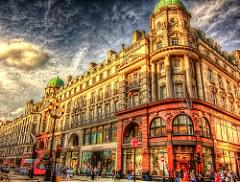 Regents street . London HDR