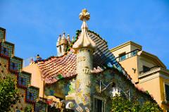 Gaudi's work....Barcelona