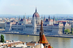 Hungary-0194 - View of Hungarian Parliament