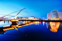 Blue hour on the River Liffey