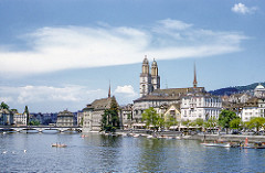 Zurich, Switzerland, in 1954