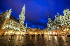 The grand expanse of Grand Place