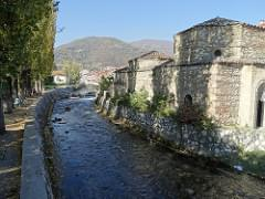 View along Pena River - Outside Pasha's Mosque - Tetova (Tetovo) - Macedonia