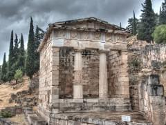 Athenian Treasury - Θησαυρός των Αθηναίων