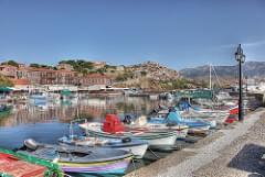 Hafen von Molivos HDR