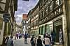 Main street of the Old City of Bamberg