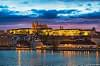 Prague Castle at sunset