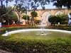Fountain at Upper Barrakka Gardens, Valletta, Malta
