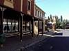 Antique shops and others shops in main street of the heritage town of Carcoar New South Wales.