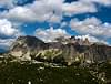 Vista delle Tre Tofane - Dolomiti Bellunesi