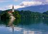 The island in Lake Bled