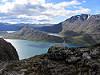 hiking the Besseggen ridge..