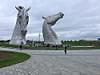 Kelpies at the Forth Clyde Canal