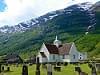 Church in Olden, Norway