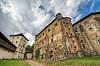 Entering the Old Castle in Banska Stiavnica