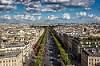 Champs-Élysées from Above
